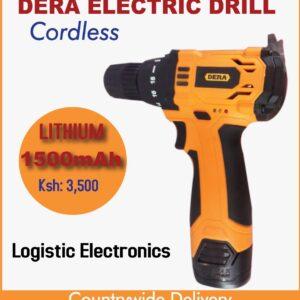 Dera cordless lithium electric drill 1500mAh