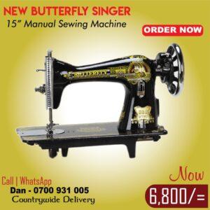 Butterfly Juki-singer 15ch sewing machine