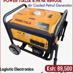 Power Italia air cooled petrol power generator