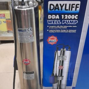 Dayliff well Submersible waterpump DDA1200C 1.25hp