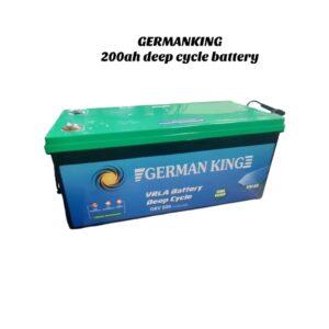 Germany King 200Ah 12v deep cycle battery