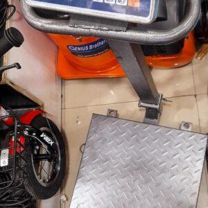 Platform weighing machine 600kgs